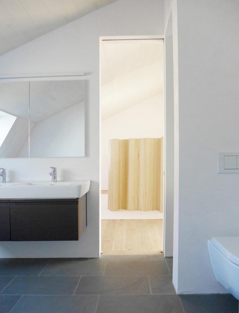 Bad Dachgeschoss © Forsberg Architekten