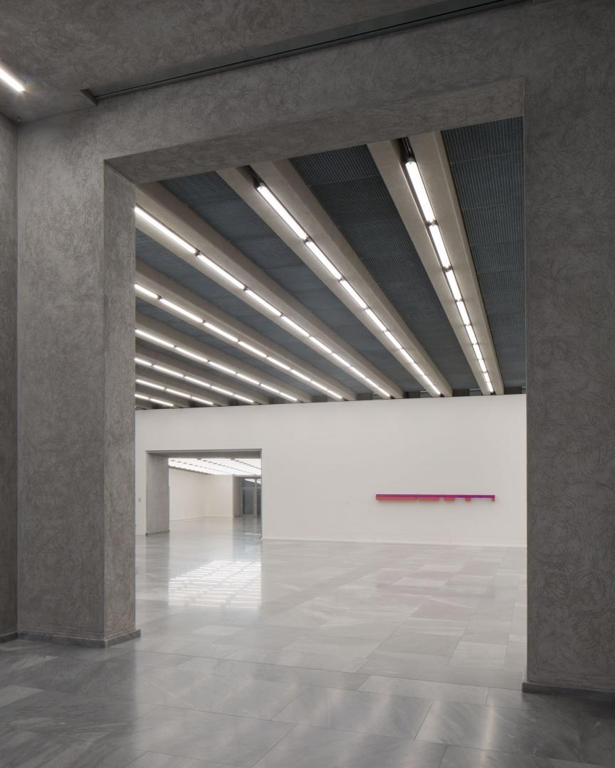 Blick in Ausstellungsräume UG © Stefano Graziani