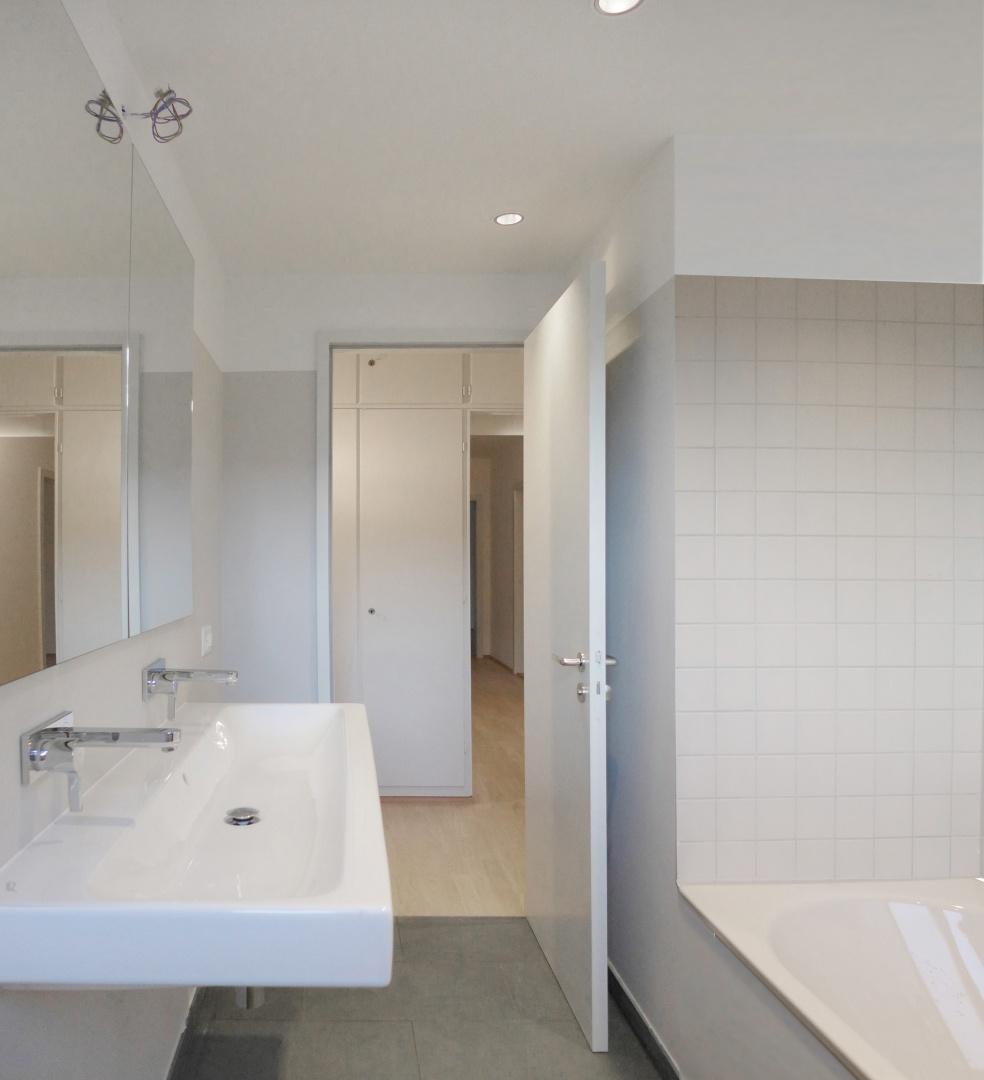 Obergeschoss Bad © Forsberg Architetken AG