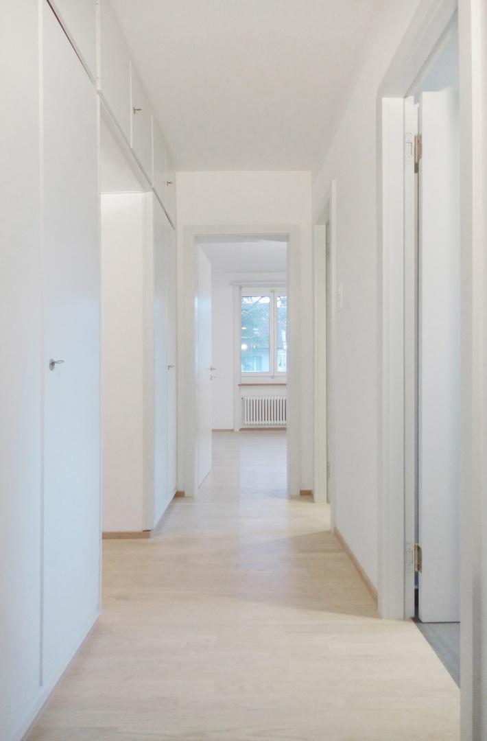 Obergeschoss Flur © Forsberg Architetken AG