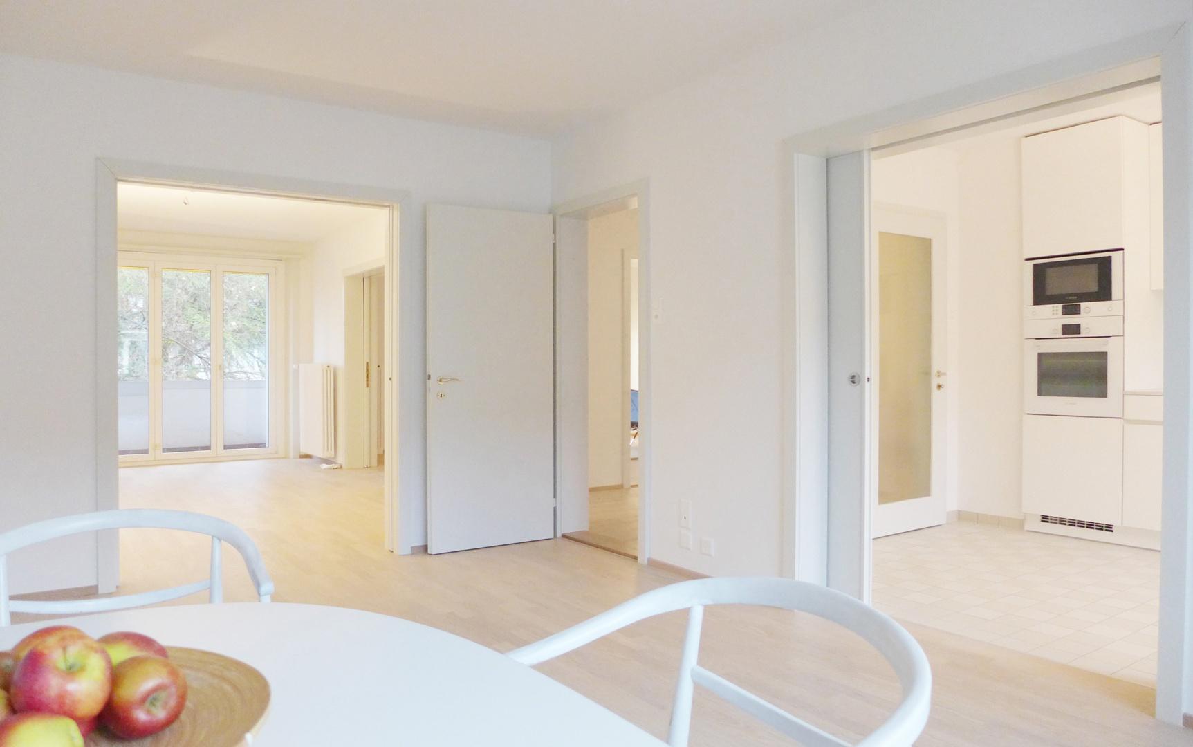 Obergeschoss Wohnen © Forsberg Architetken AG