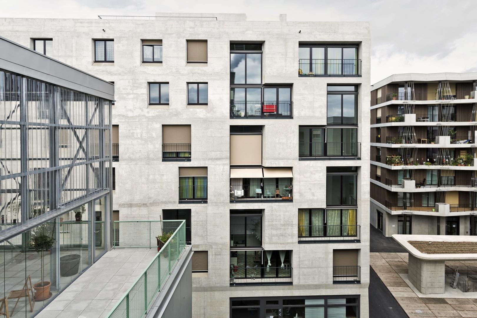 Fassade Haus G © Niklaus Spoerri