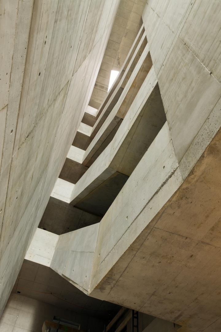 Treppenraum © Niklaus Spoerri