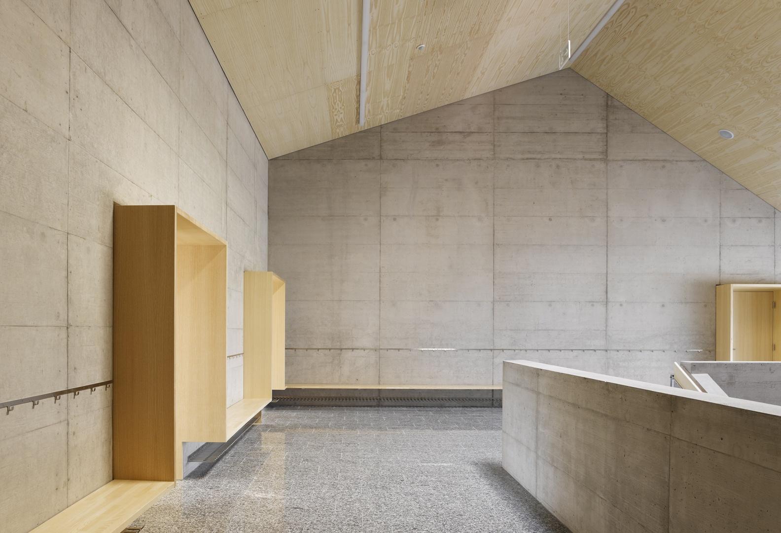 Etage supérieur_classes © foto: Dominique Uldry, Bern