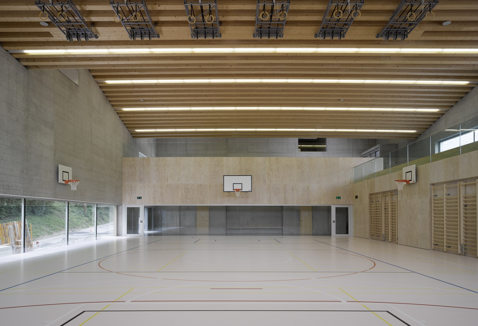 Salle de gym © foto: Dominique Uldry, Bern