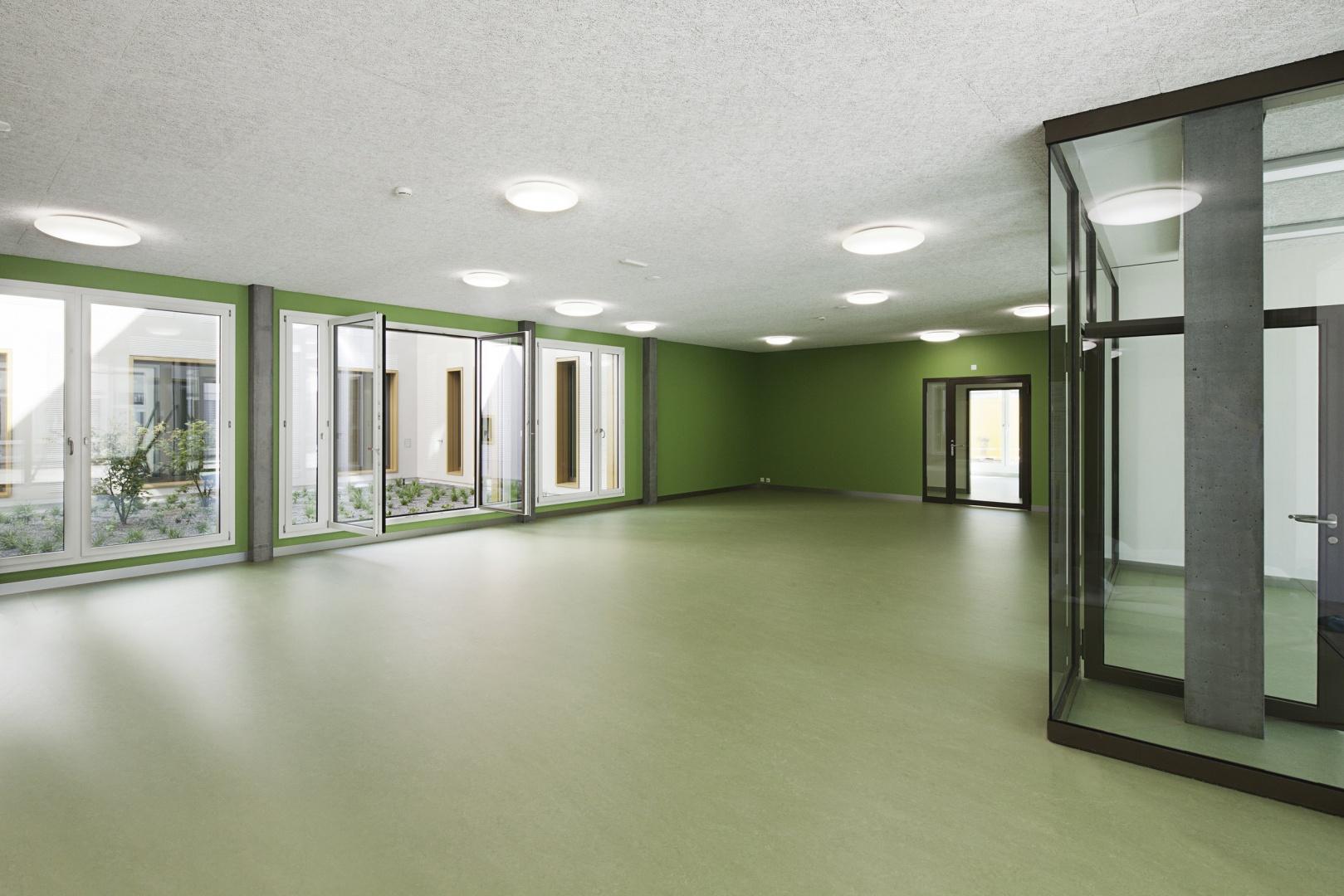 KJPZ_Eingangshalle_EG © Daniel Erne, Horgen