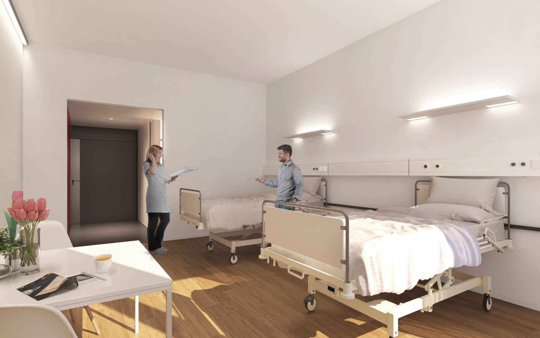 BB12 - Doppelzimmer © Planergemeinschaft Archipel, Seelandweg 7, 3013 Bern