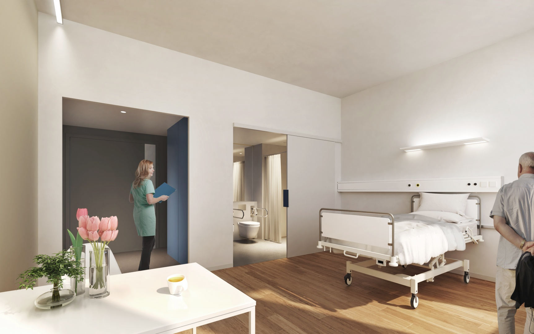 BB12 - Einzelzimmer © Planergemeinschaft Archipel, Seelandweg 7, 3013 Bern