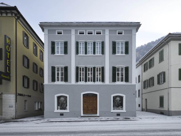 Hauptfassade  © Roger Frei