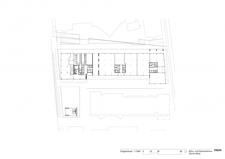 Erdgeschoss © EM2N