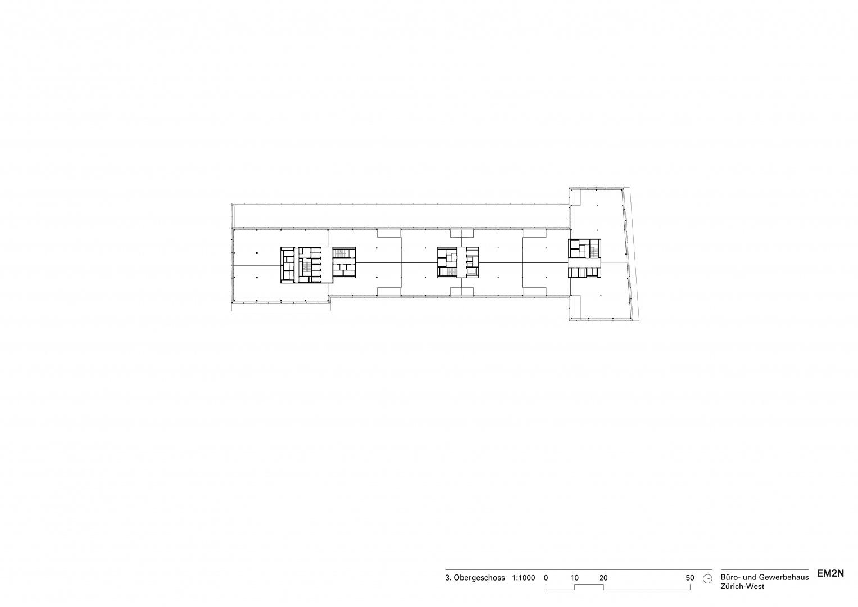 3. Obergeschoss © EM2N