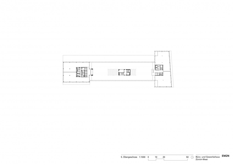 5. Obergeschoss © EM2N