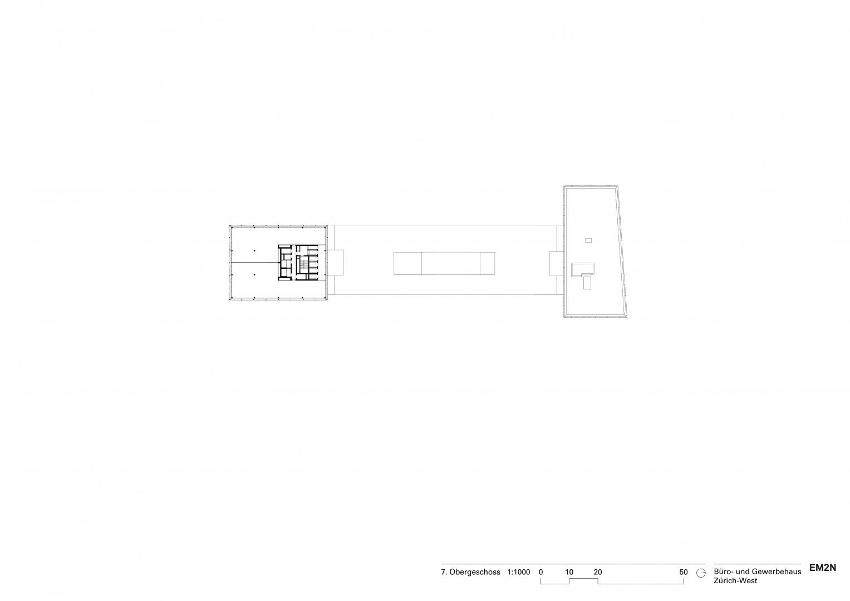 7. Obergeschoss © EM2N