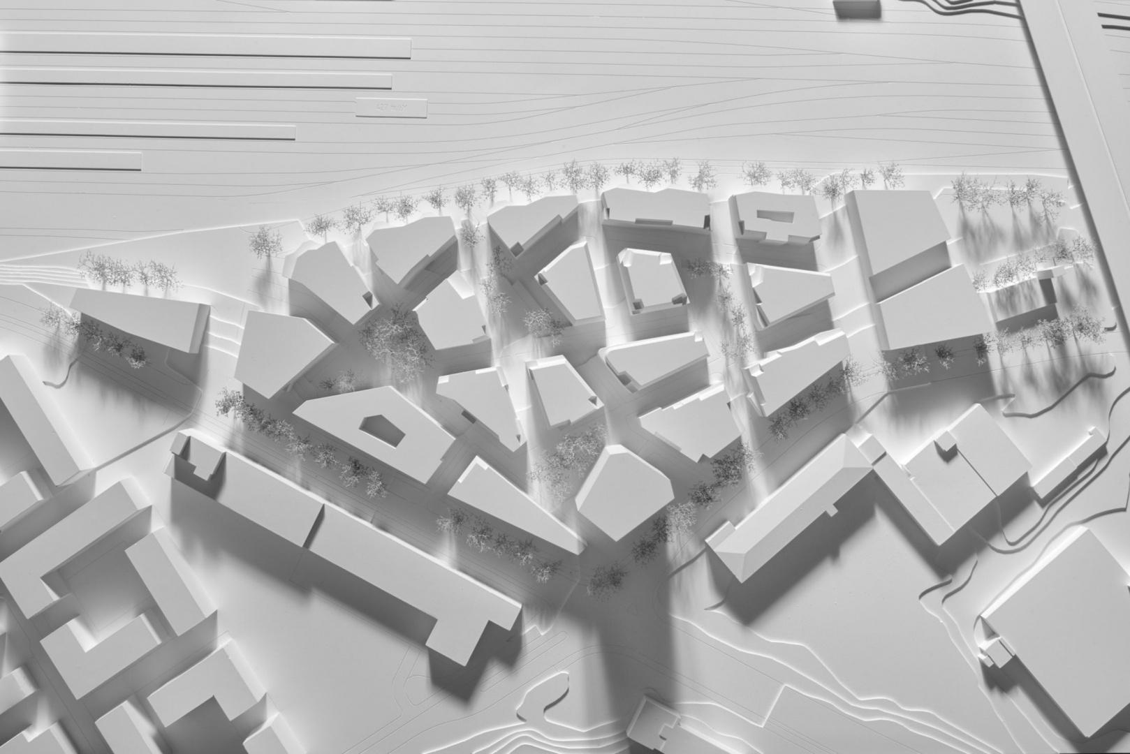 Mastermodell Aufsicht © Duplex Architekten AG