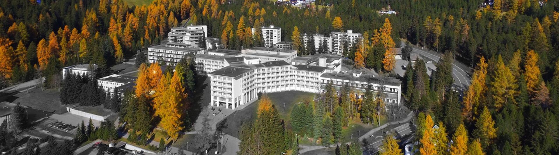 Vogelbild Hochgebirgsklinik Davos © unklar; Google