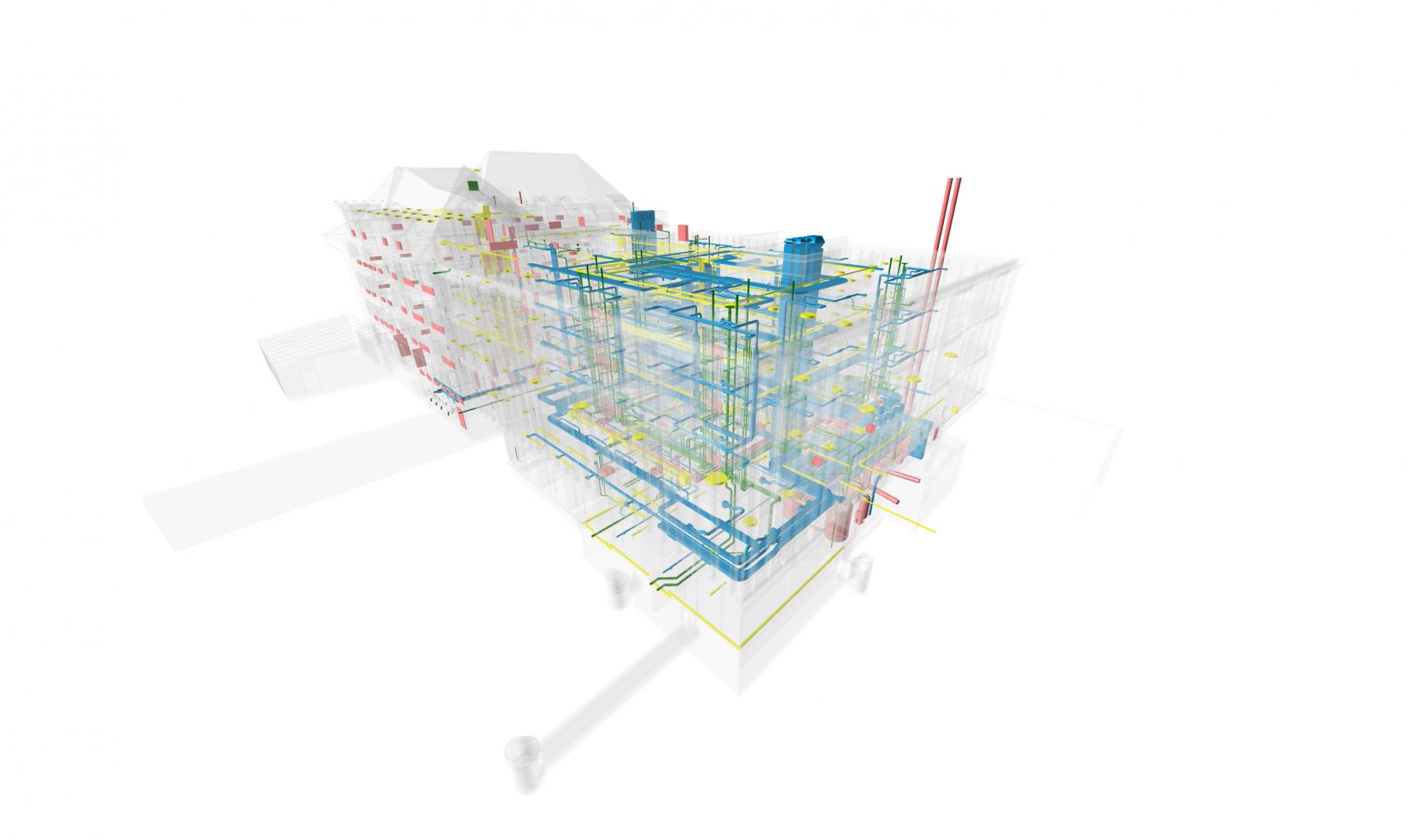 Oberried Koordinationsmodell © matti ragaz hitz architekten ag