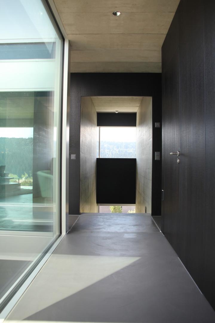 couloir d'entrée © kaiser & wittwer sa
