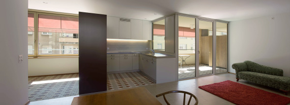 Küche/Loggia © Foto: Walter Mair