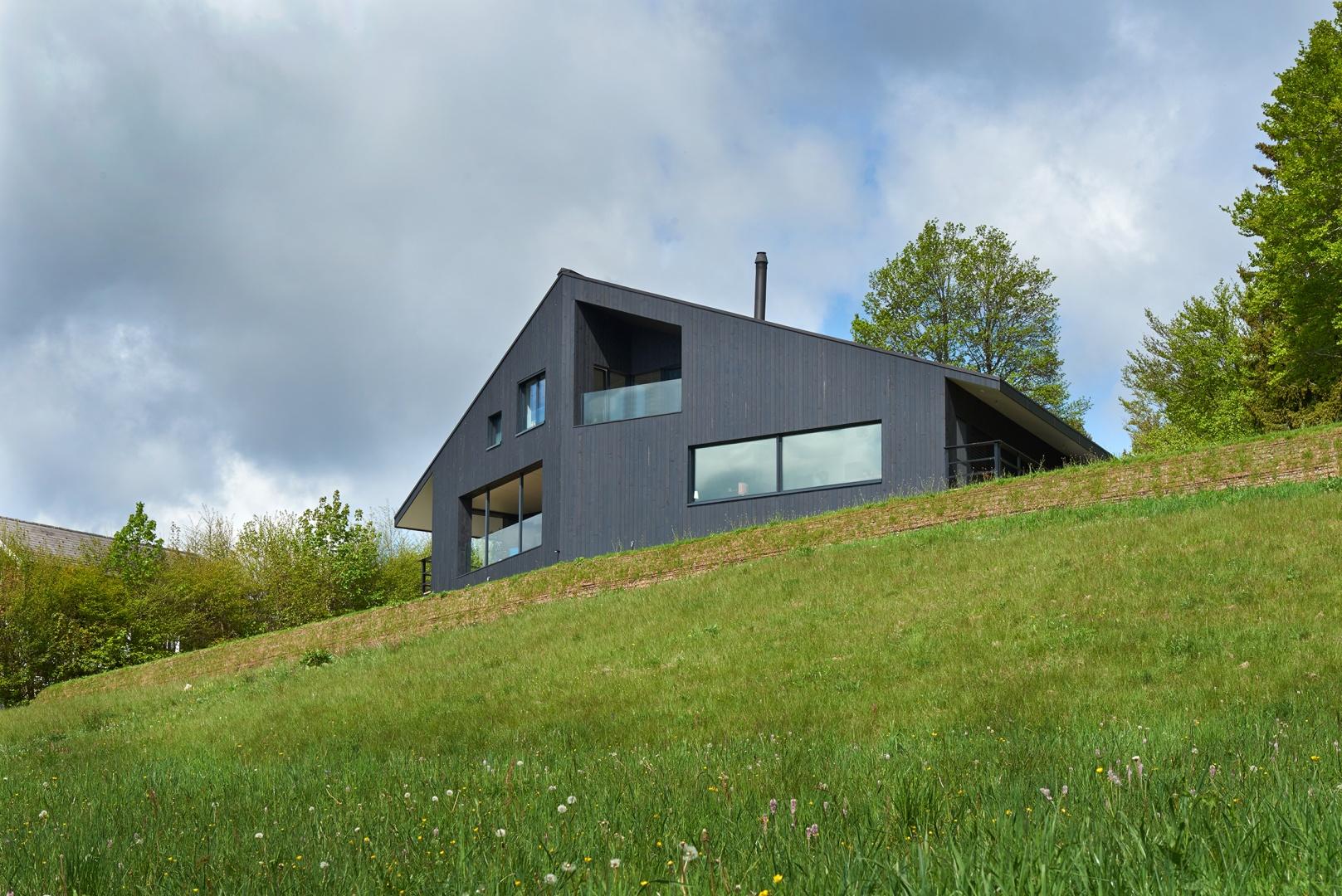 Maison contemporaine Minergie-P | Schweizer Baudokumentation