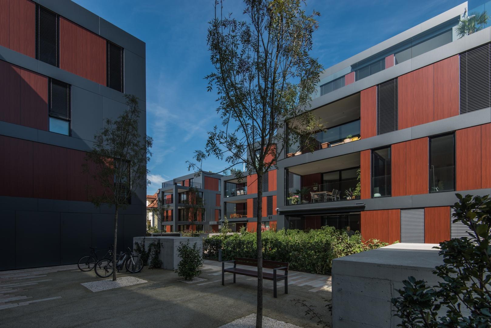 Blick auf Haus C © Ferrara Architekten AG