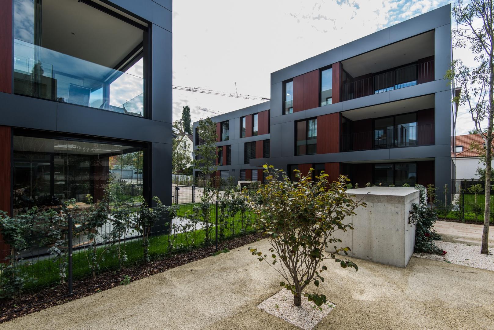 Ansicht Haus D © Ferrara Architekten AG