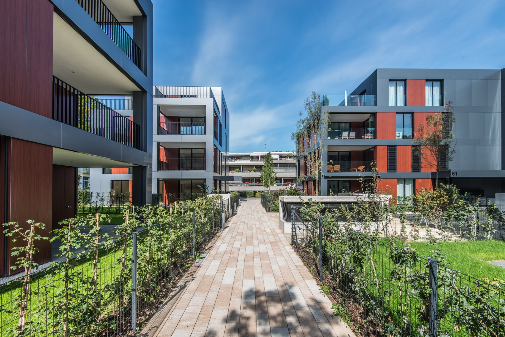 Blick auf Haus C+A © Ferrara Architekten AG