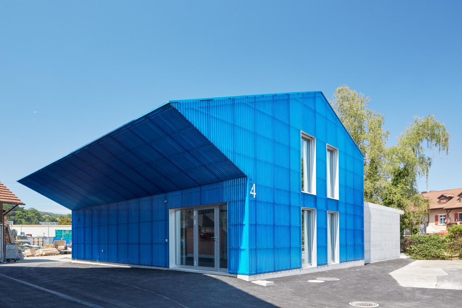 Umbau Scheune zu Büro- und Gewerbegebäude © Fotowerk
