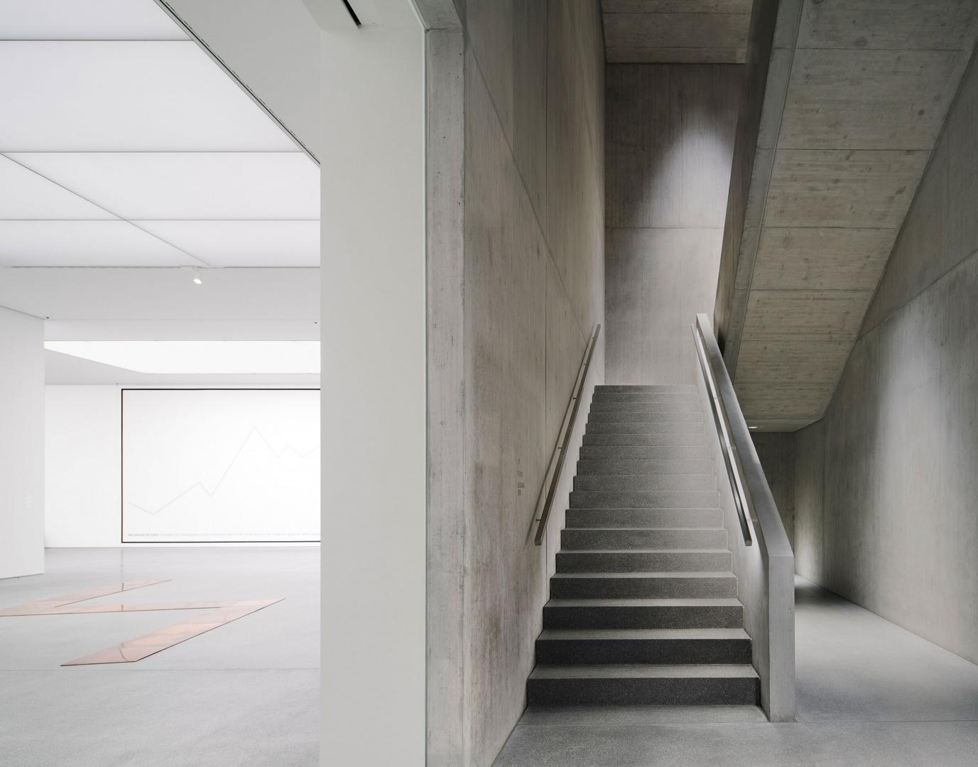 Treppe / Erschliessung © Simon Menges