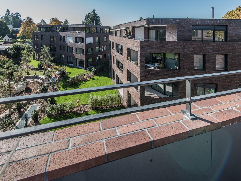 Ansicht auf Haus B+C © Ferrara Architekten AG
