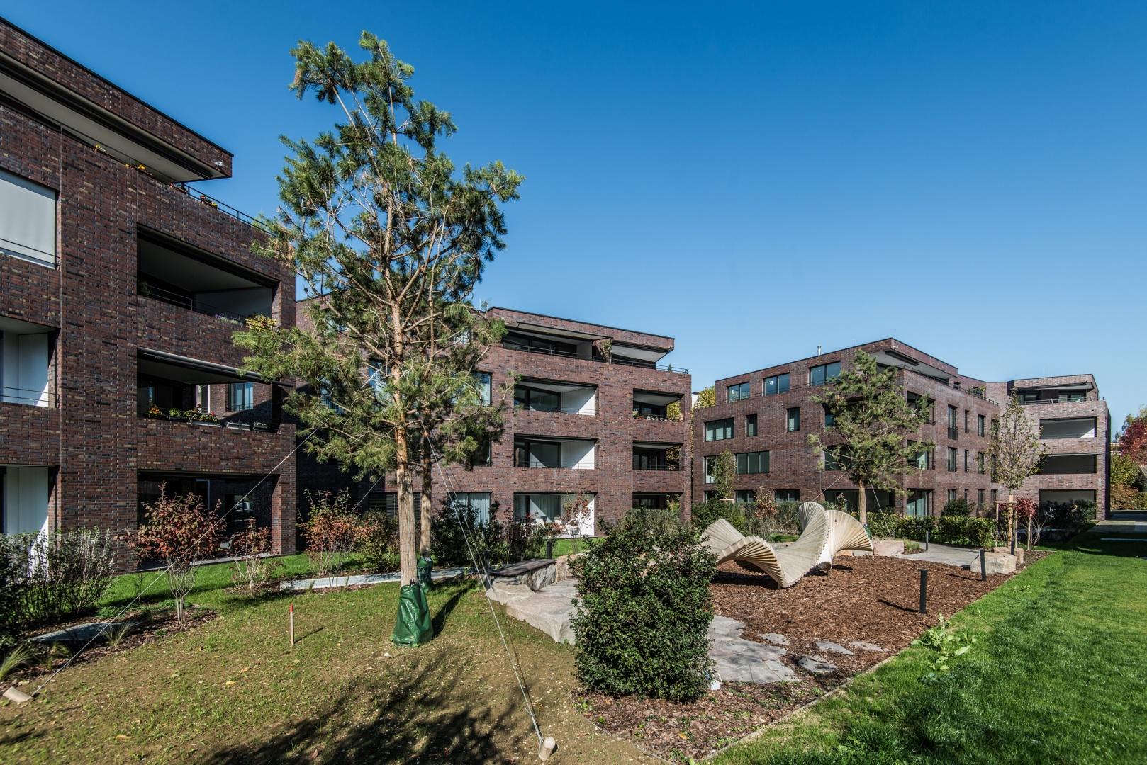 Ansicht Garten Auf Haus B+A © Ferrara Architekten AG