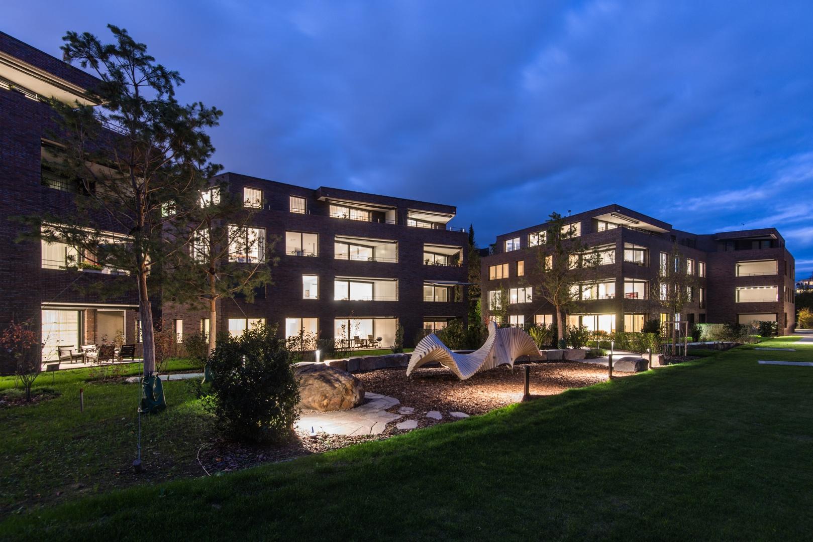 Ansicht bei Nacht © Ferrara Architekten AG
