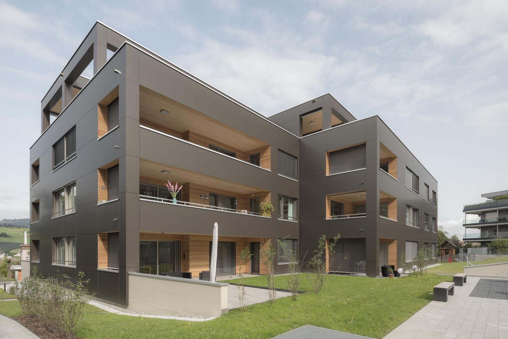 Südansicht © marty architektur ag / Stefan Zürrer