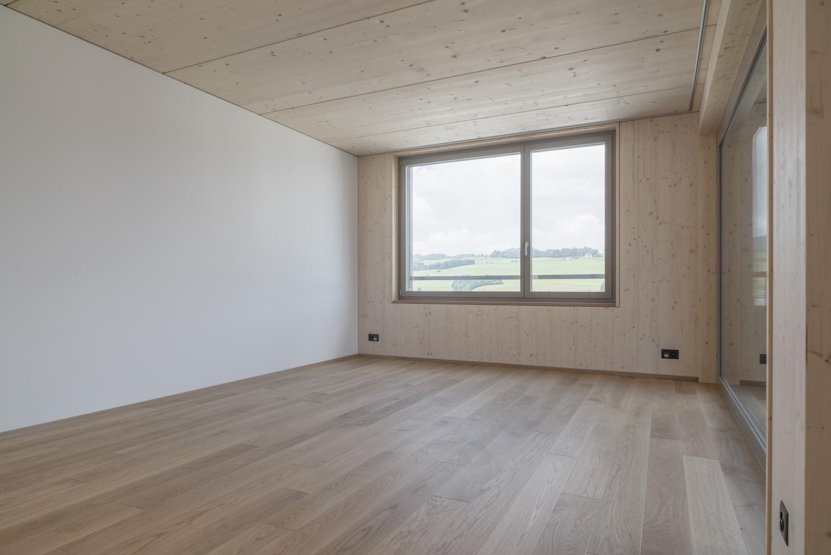 Zimmer © marty architektur ag / Stefan Zürrer