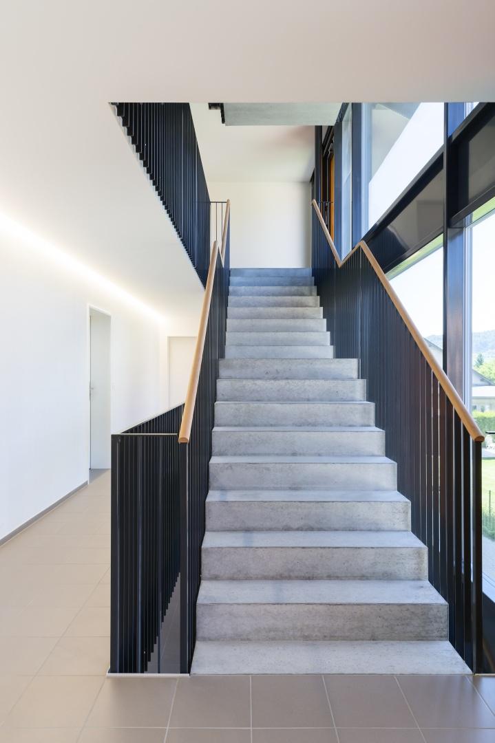 Treppenhaus mehrfamilienhaus  Mehrfamilienhaus Chrüzmatt Sissach | Schweizer Baudokumentation