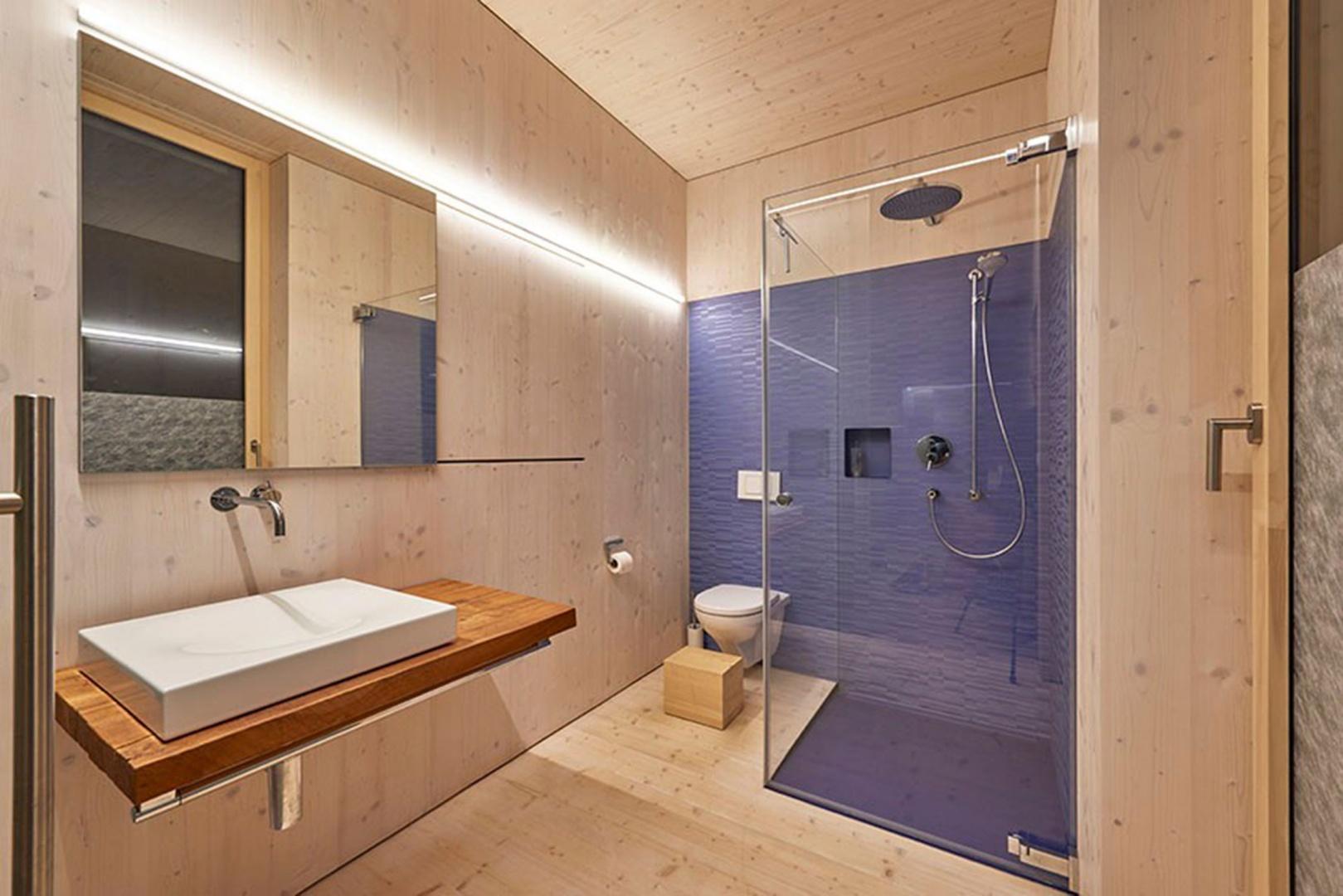 Salle de bain © Hector Egger Holzbau AG