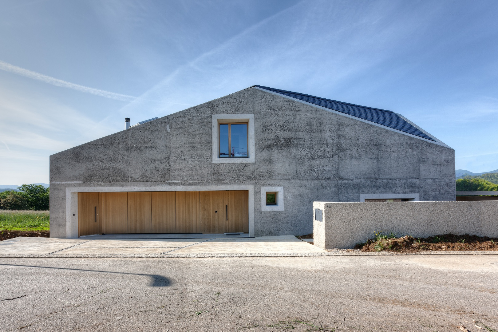 Nordfassade © KREN Architektur AG