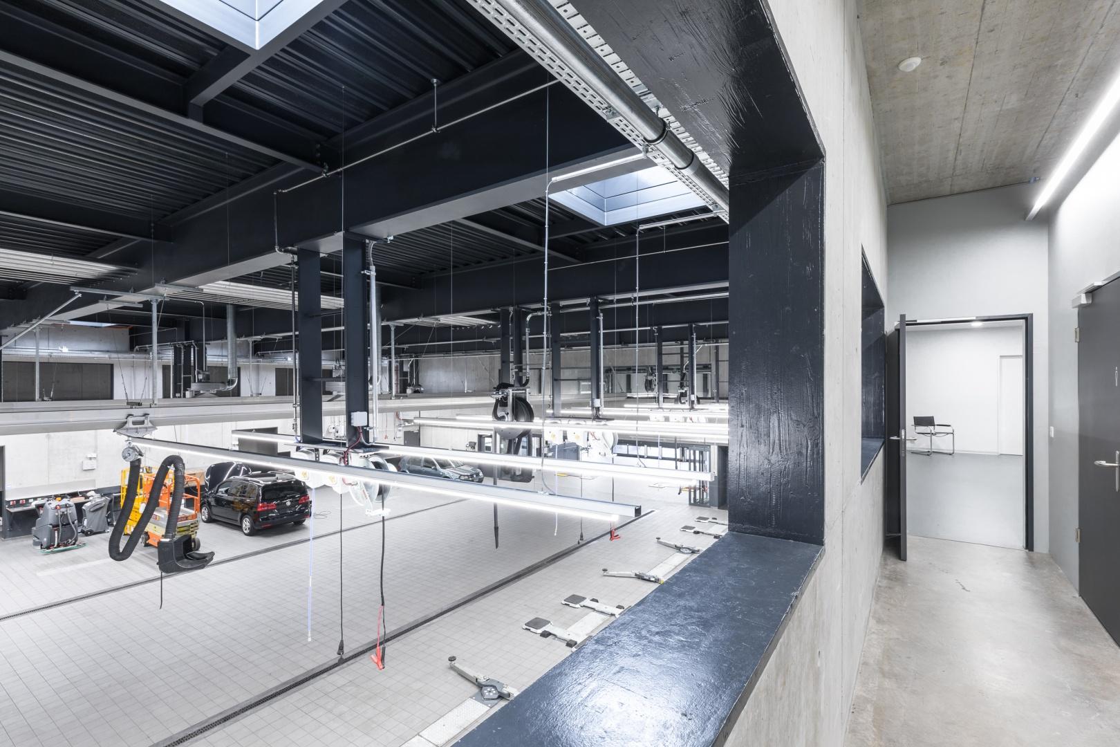 Personalräume © KREN Architektur AG
