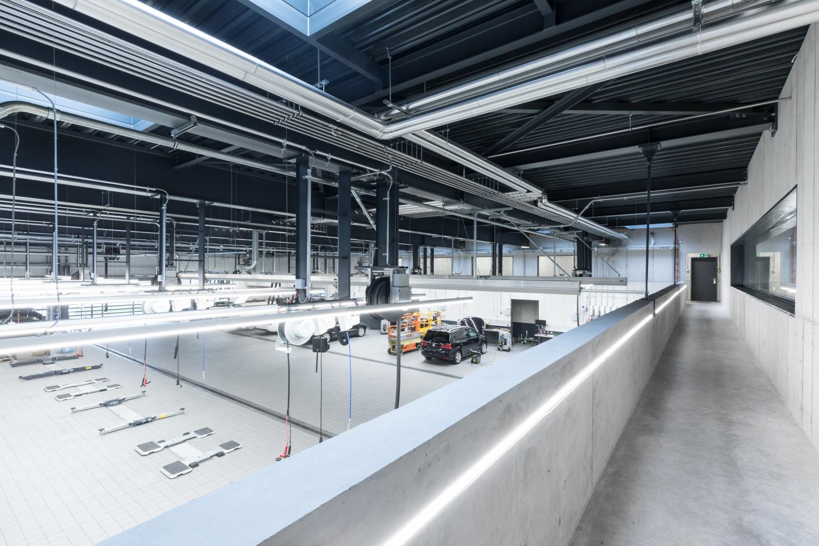 Blick in die Werkstatt © KREN Architektur AG