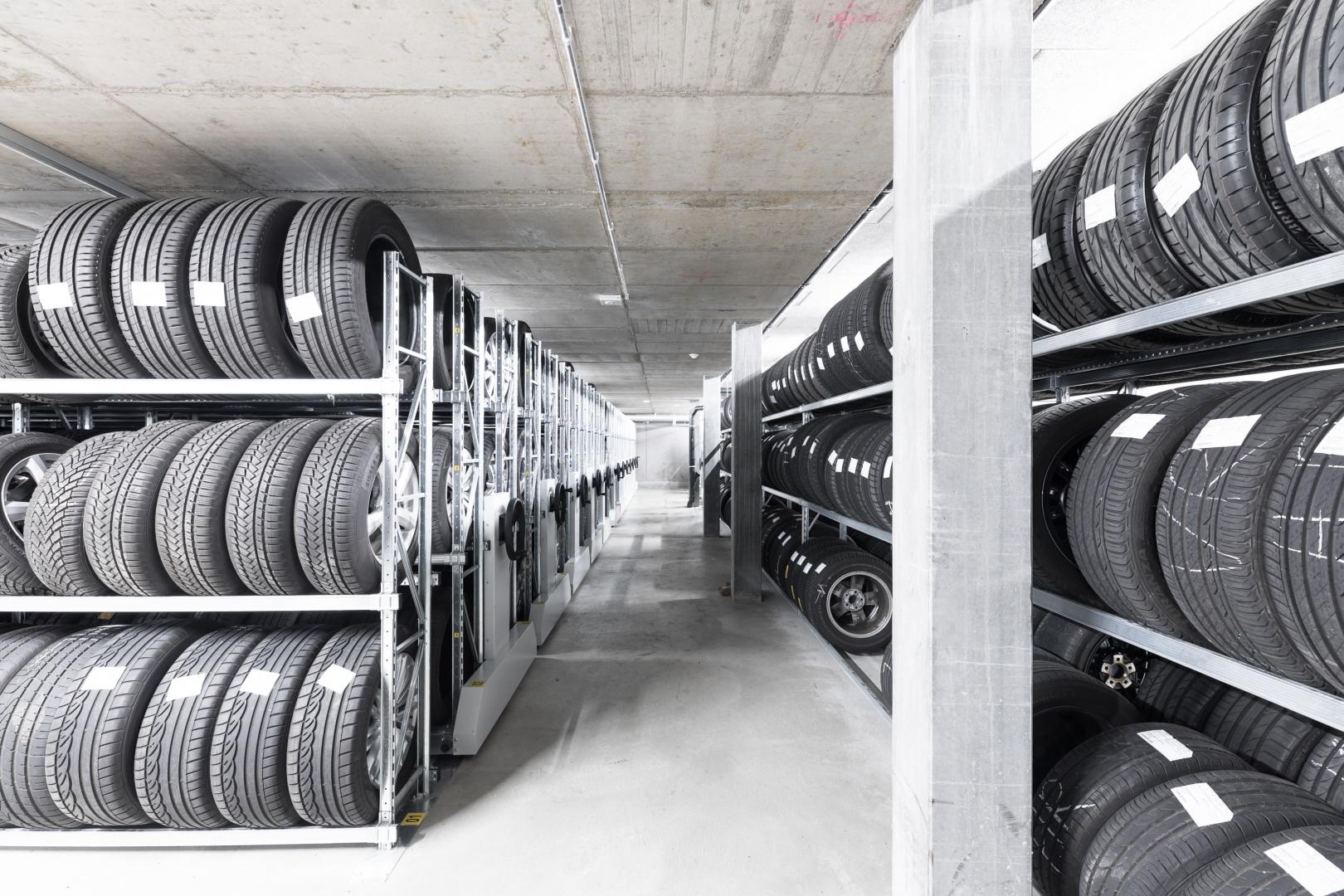 Reifenlager © KREN Architektur AG
