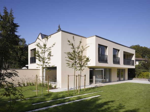 Fassade Südwesten © Merlo Architekten AG