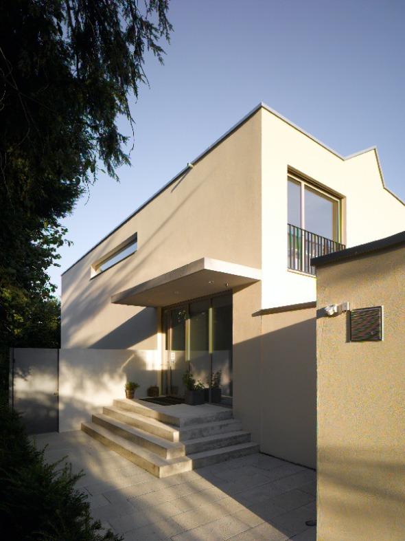Fassade Nordwesten © Merlo Architekten AG