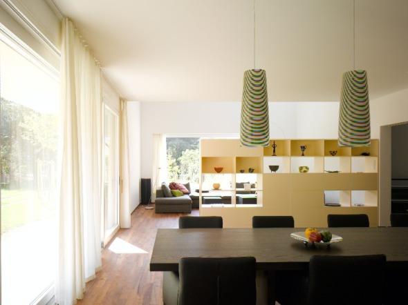 Essen blick in Richtung Wohnen © Merlo Architekten AG