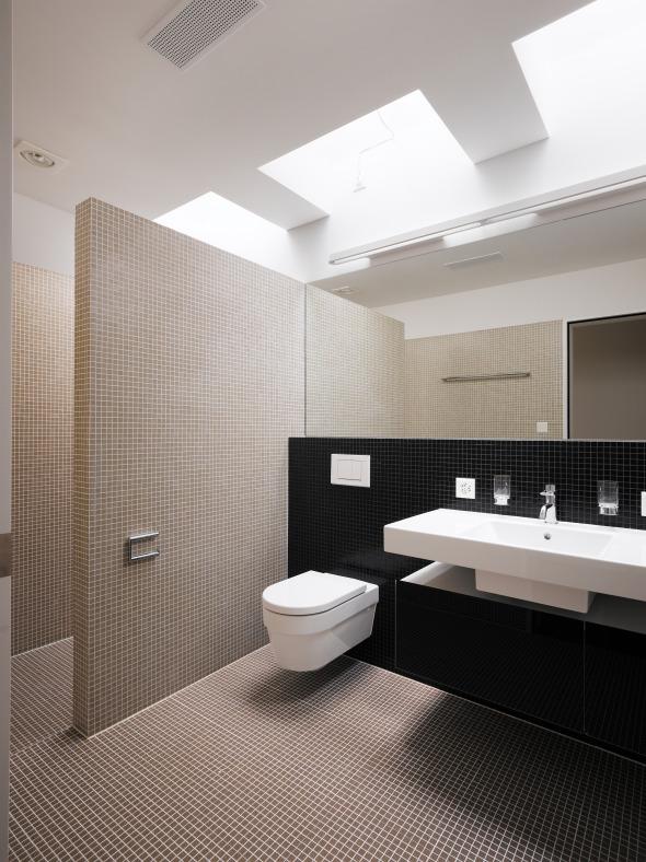 Dusche © Merlo Architekten AG