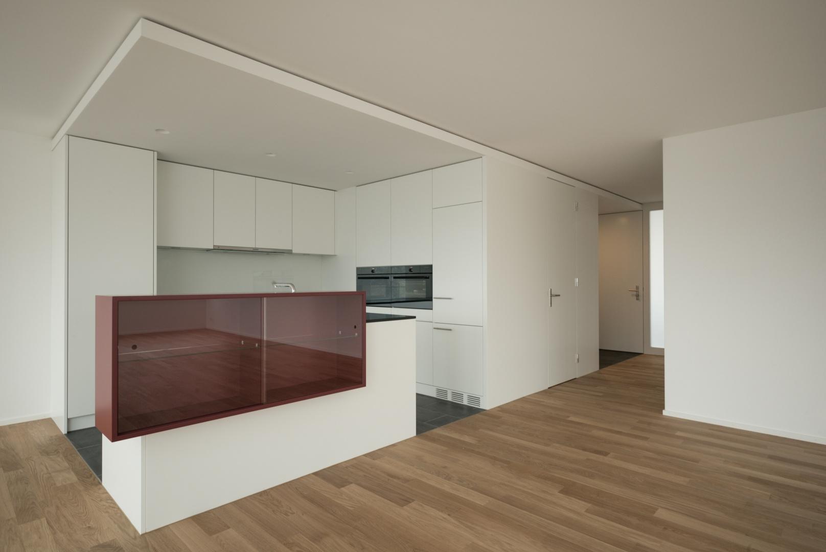 Küchenelement mit Reduit und Eingang © www.hansjoergbetschart.ch