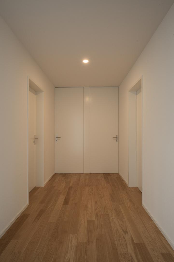 Wohnungsinterne Erschliessung Normalgeschoss geschlossen © www.hansjoergbetschart.ch