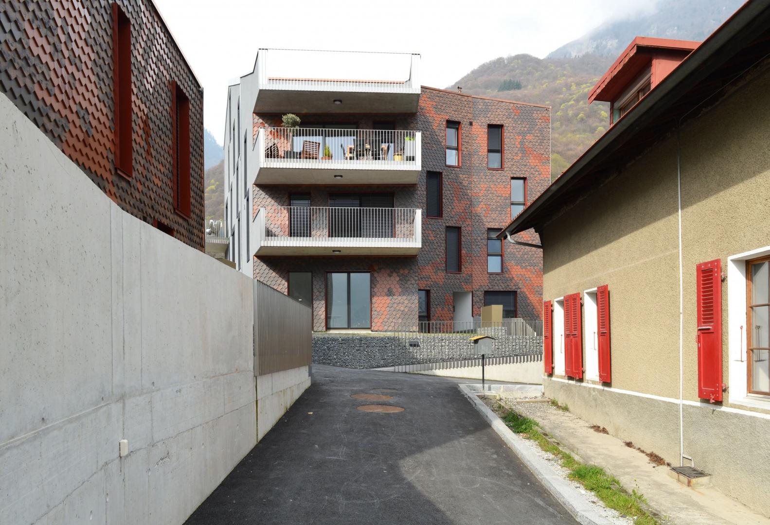 Sampan_passage_intérieur © Voltolini Architectures Sàrl
