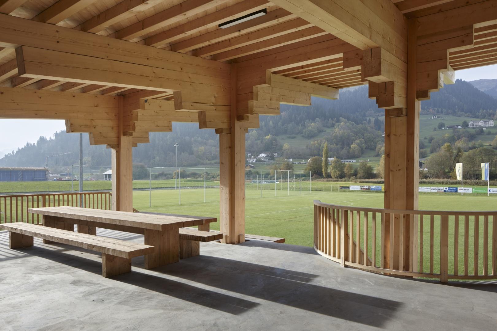 Terrasse Vereinslokal © Ralph Feiner