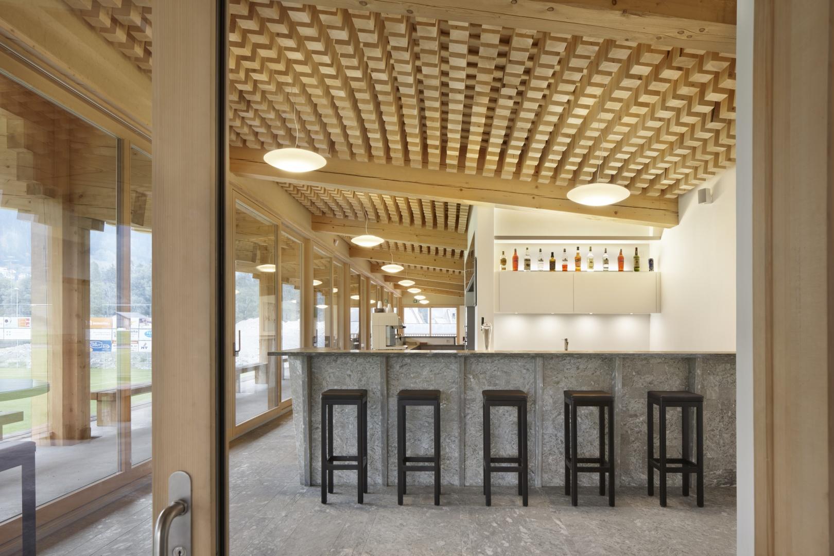 Vereinslokal mit Bar © Ralph Feiner