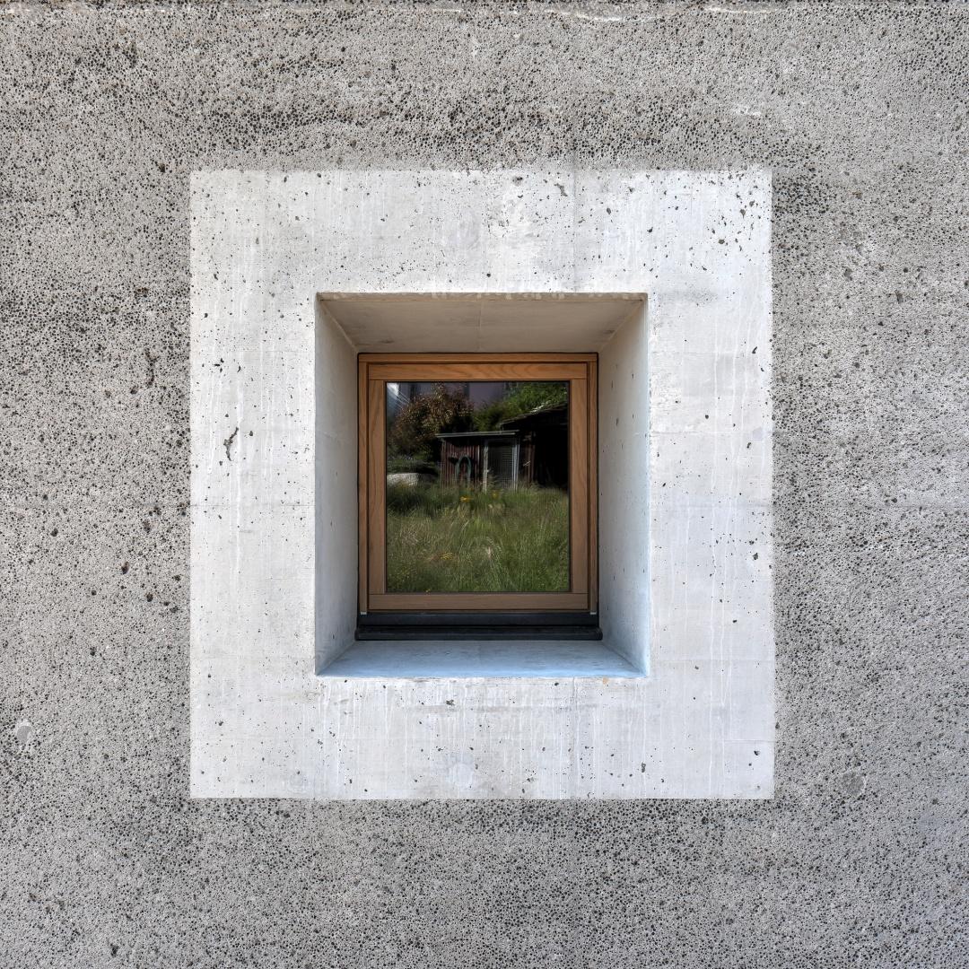 Fassadendetail © KREN Architektur AG