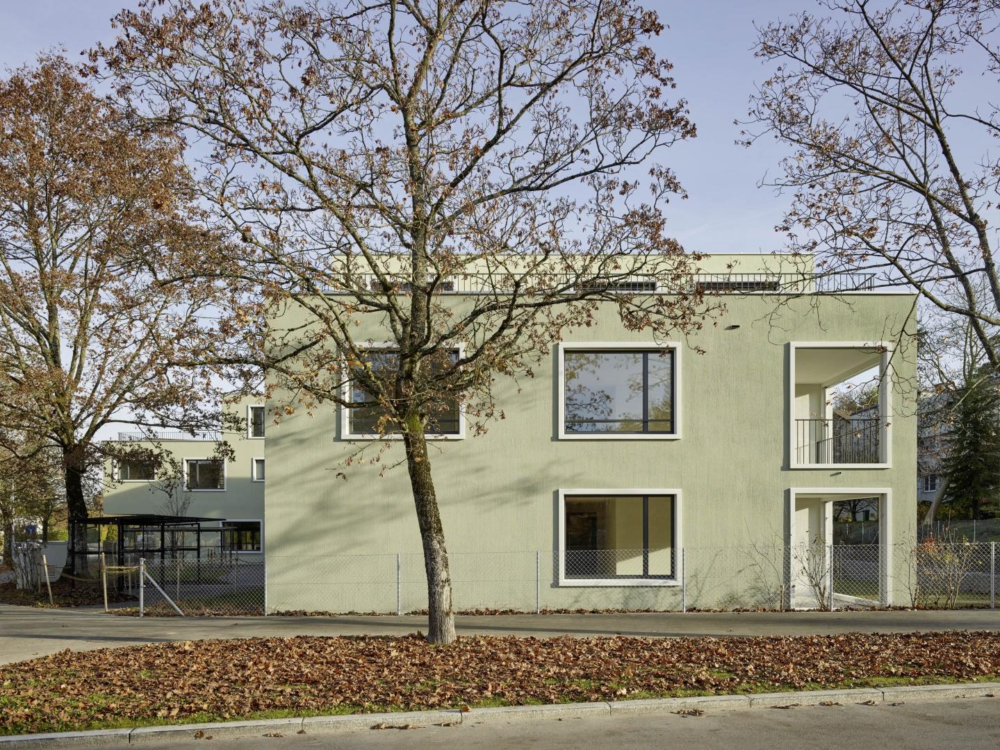 Strassenansicht © Eglin Schweizer Architekten